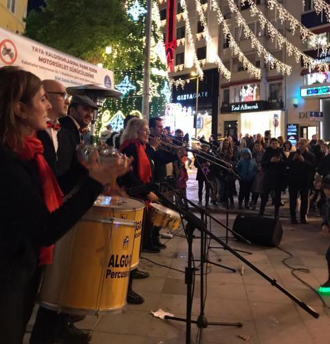 Yılbaşı Konseri / Nişantaşı Abdi İpekçi Caddesi