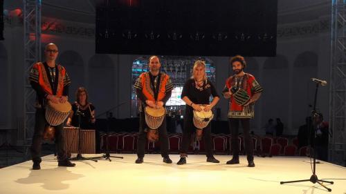 Afrika Ritim Show - Novartis Uluslarararsı Etkinliği /  Conrad Istanbul Bosphorus